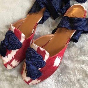 Aquazzura legend tie sandal